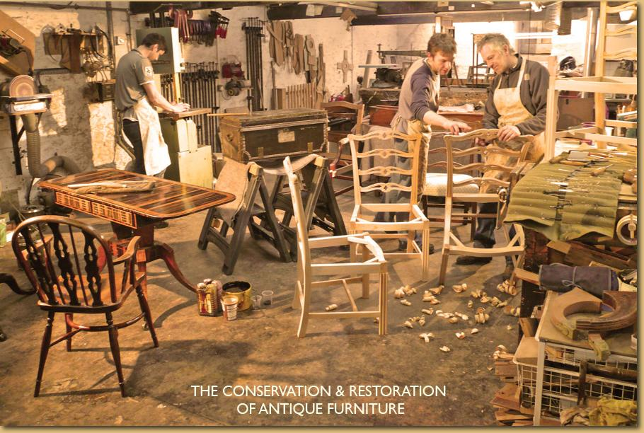 John Hulmes workshop for the conservation and restoration of antique furniture